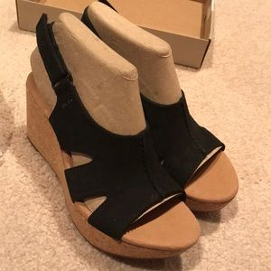 2e905d4f849 Clarks Shoes - NWT Clark s Women Annadel Bari Wedge Sandal